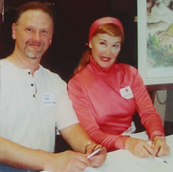 Arne Fogel and Kathryn Crosby