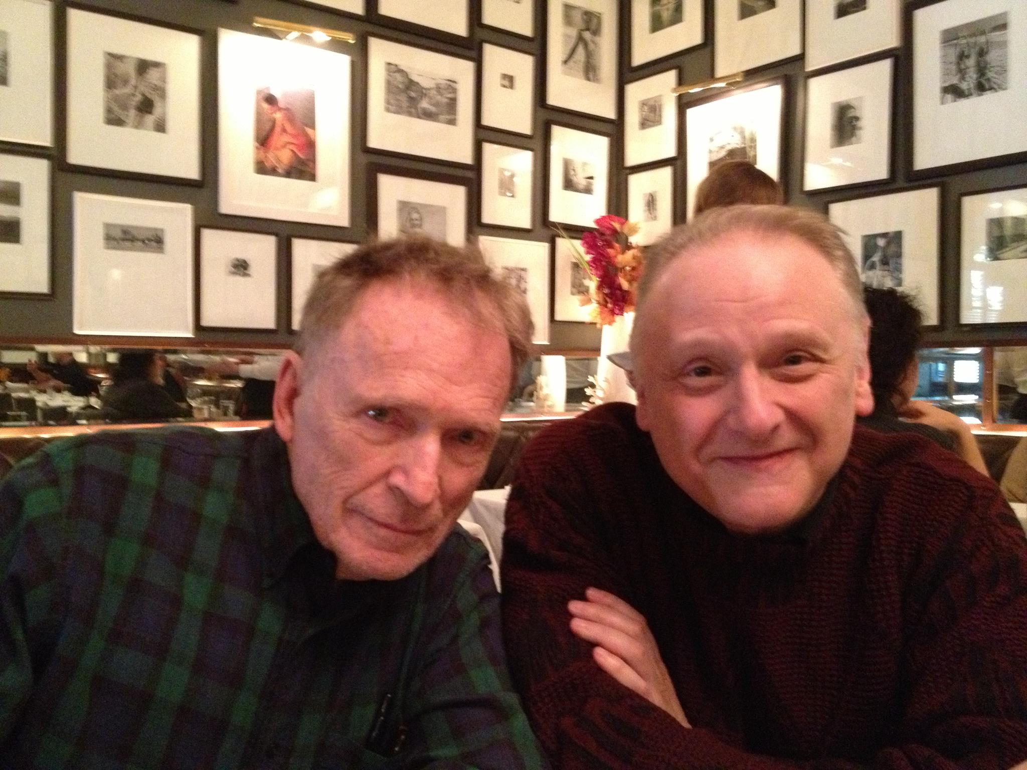 Lunch with Dick Cavett... Pretty amazing....